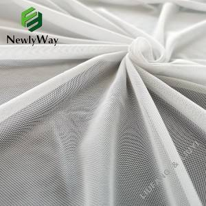 OEM/ODM Manufacturer Transparent Mesh Fabric - High grade 40D nylon spandex mesh knit stretch fabric for garments – Liuyi