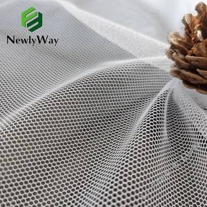 Excellent quality Polyester And Spandex - Lightweight polyester hexagon honeycomb net tulle mesh fabric for sports cushion – Liuyi