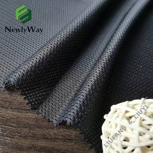 Hot sale Spandex Cloth - Manufactory direct selling 100 poly warp knitted mesh for sportswear lining – Liuyi