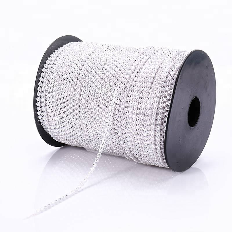 Hot sale Rhinestone Tape Trim - 10 yards diamond mesh wraps roll sparkle rhinestone banding for garment decoration – Erjiao