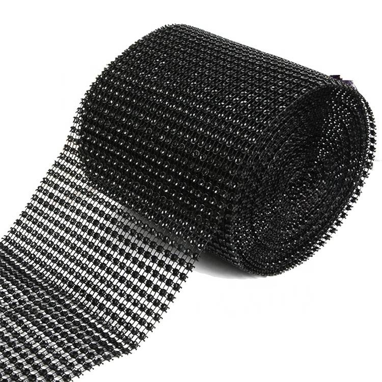 Wholesale Factory High Quality Trim Cup Chain Hot Fix Rhinestone Mesh Featured Image
