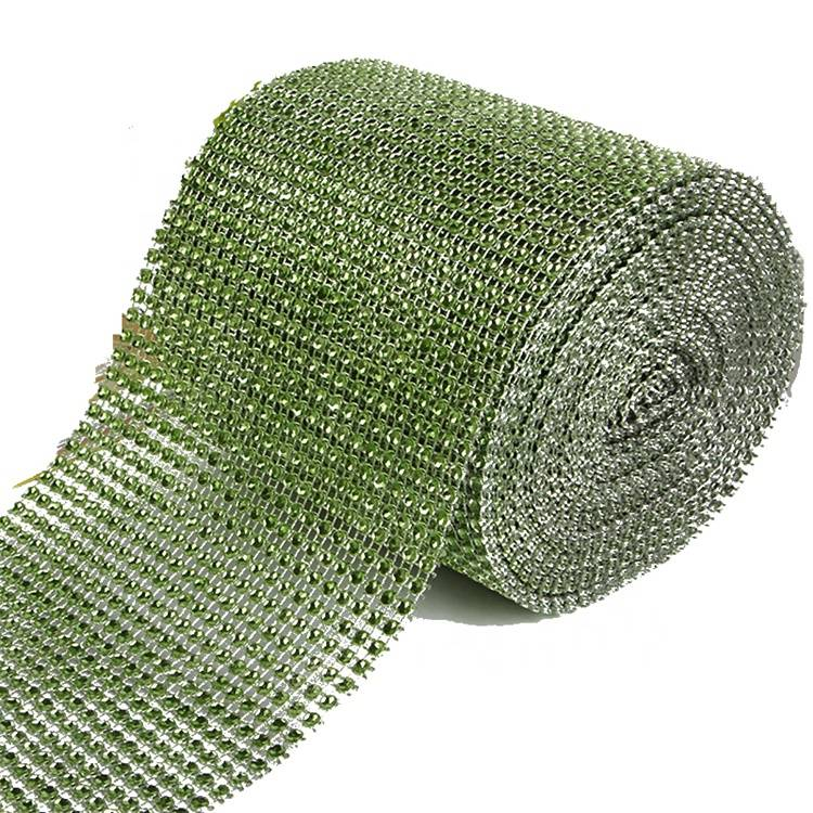Low Price Wholesale 24 Rows Cup Chain Net No Rhinestone Mesh Sheet