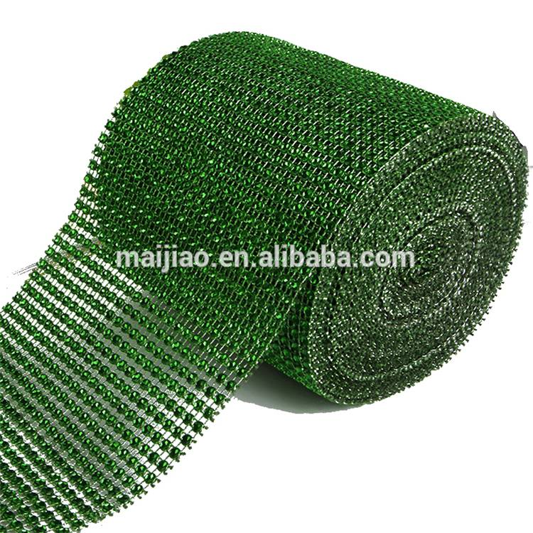 Factory Price High Quality Cloth 24 Rows Cup Chain No Rhinestone Mesh Hotfix