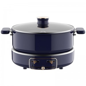 Automatic Lifting Electric Hot Pot Roasting All-in-one Pot