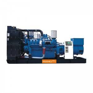 Factory wholesale 100kw Diesel Genset With Famous Engine - MTU – Mamo