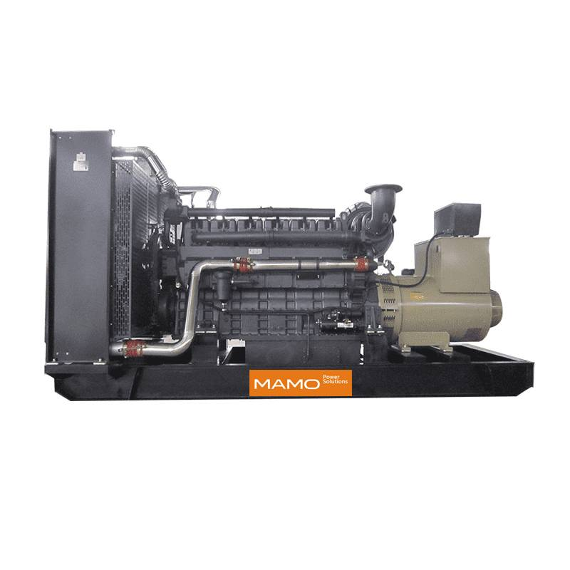 Factory wholesale 100kw Diesel Genset With Famous Engine - Shanghai MHI – Mamo