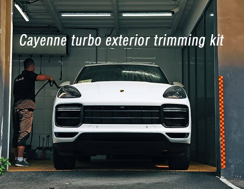 Automobile refitting for New Cayenne turbo exterior trimming kit and replacement parts High-quality and beautiful decoration