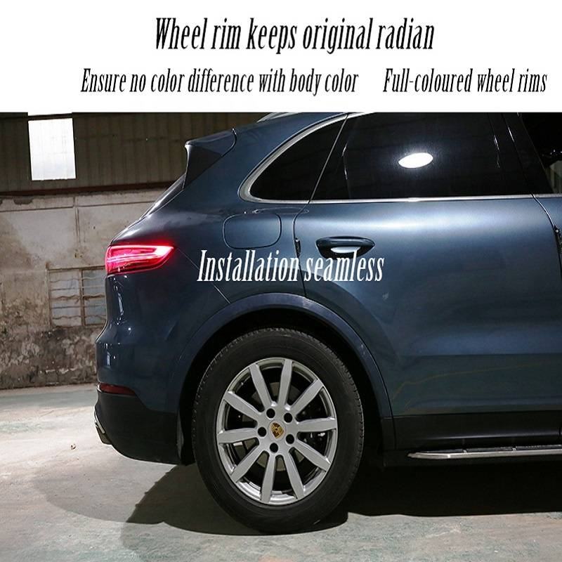 Automobile refitting for New Cayenne Wheel rim of the same color and replacement parts High-quality and beautiful decoration