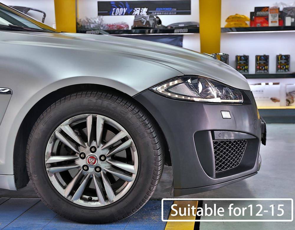 Automobile refitting for  Jaguar XF modified R-S Bumper and replacement parts  High-quality and beautiful  decoration