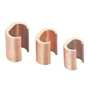 Copper cable clamp