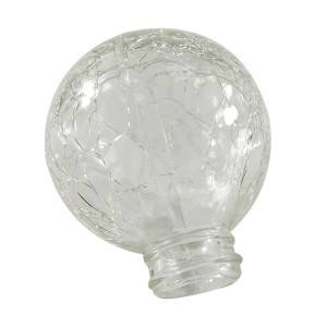 China Manufacturer Crackle Glass Ball Shade