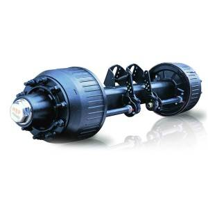 16ton drum type axle
