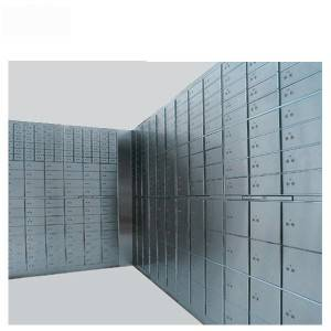 Bank Commercial Vault with Stainless Steel and safe deposit Storage-K-BXG55