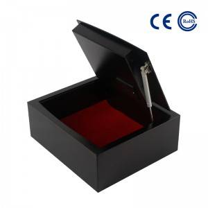 Laser Cutting Laptop Safe with Electronic Digital Safe Box K-FG600
