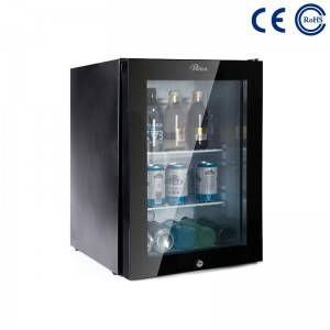 Hotel No Noise Absorption Mini Bar Fridge Without Compressor M-40T