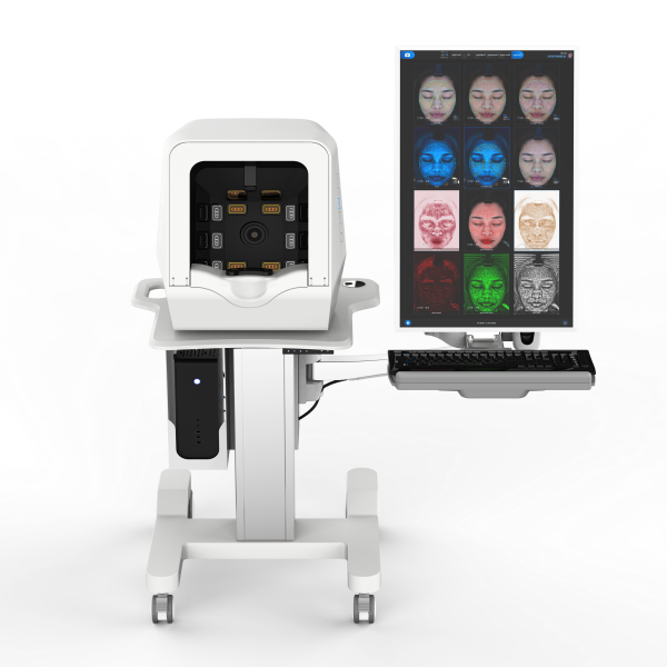 OEM manufacturer Skin Wrinkle Analysis - ISEMECO Portrait Screen Skin Scanner Analysis Device For Cosmetology Hospital – Meicet detail pictures