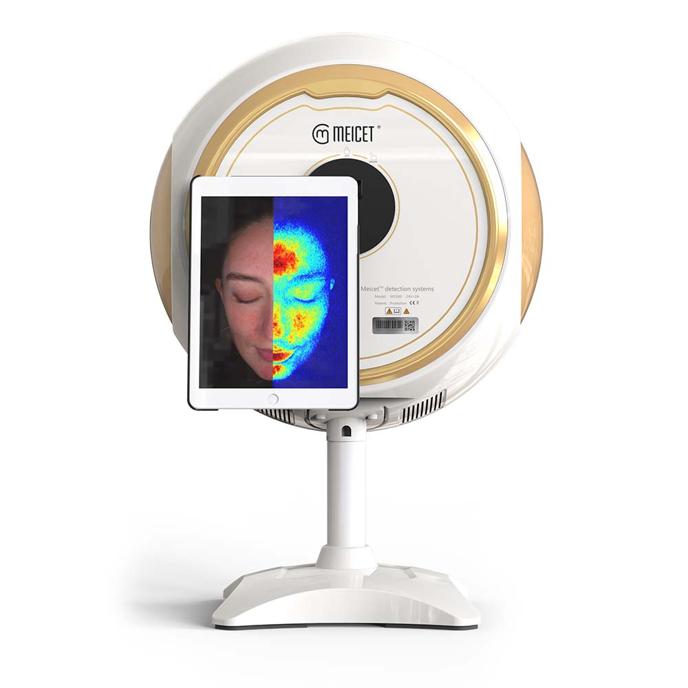 Factory making Skin Analysis Test - 5 Spectrum Facial Skin Analysis Device of Recommended Beauty Products – Meicet