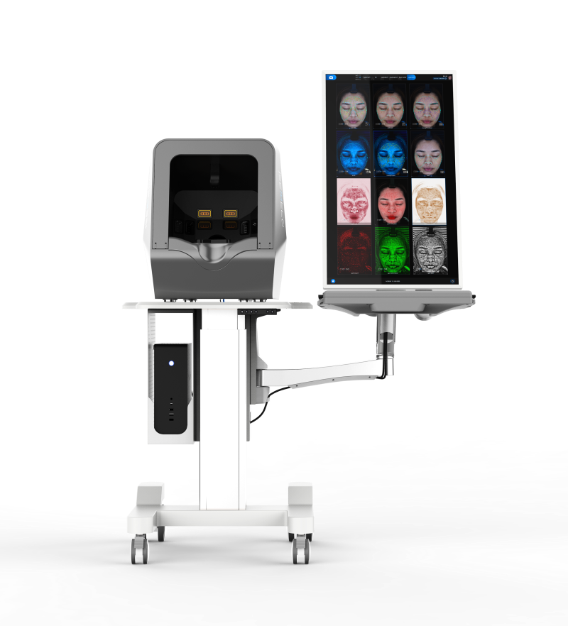 factory customized Image Skincare Test - Dermalogica Face Mapping 3D Digital Facial Skin Analyzer Machine – Meicet