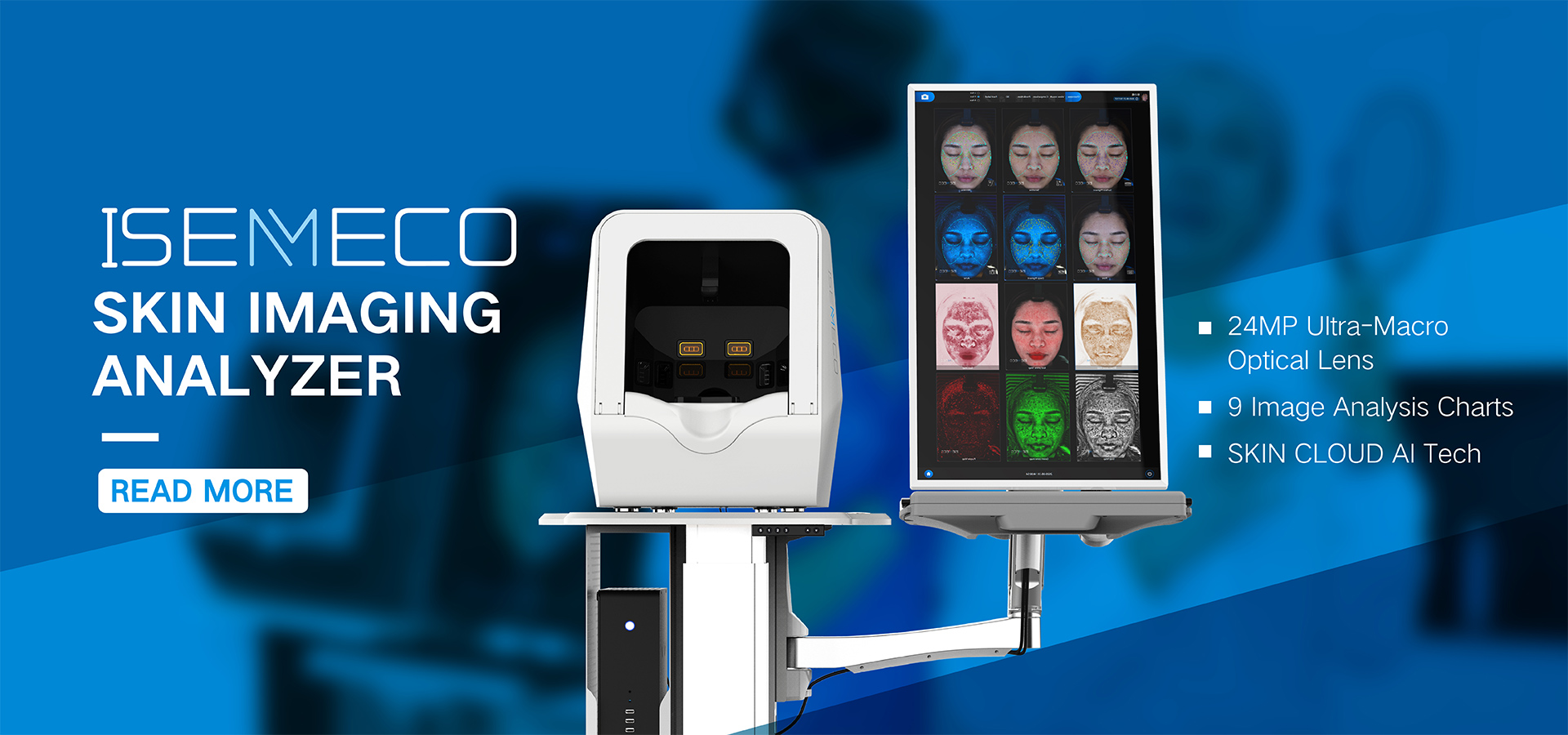 Hair Skin Analyzer Machine