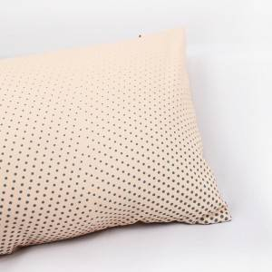 Leading Manufacturer for Bath Cape Recycled - Recycled Polyester Polka Dot Pillowcase And Pillow Core Combination – Mentionborn