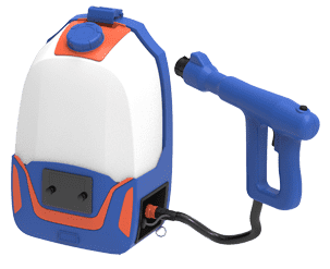 The backpack electrostatic sprayer is widely used in the fields of sanitation and epidemic prevention, disinfection, sterilization, insecticide, formaldehyde removal, dust reduction, humidification, cooling, etc.