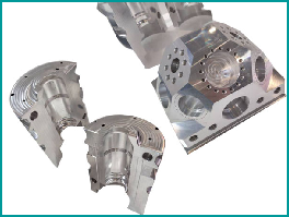 China OEM Cold Chamber Die Casting Process Manufacturers - Machined parts – Mestech