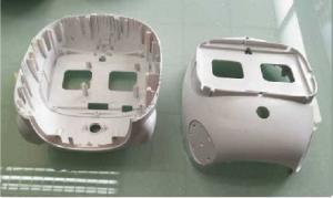 China OEM Transparent Plastic Molding Products - Plastic head shell for robot – Mestech
