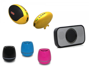 Portable mini speaker plastic enclosure