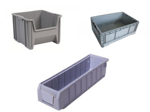 Stackable plastic storage box injection molding