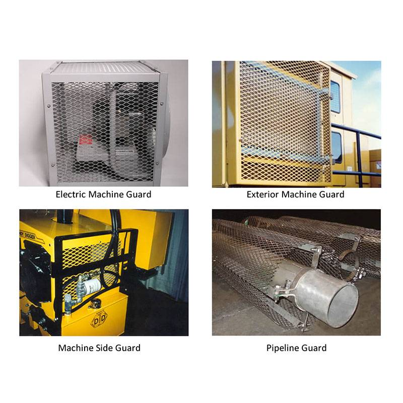 Expanded Metal Machine Guard Protecting People Safe Featured Image