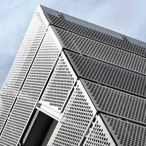 Hot Selling for Architectural Metal Mesh For Building Facades - Perforated Metal Cladding Keeps the Building from Weather Damage – BOEDON