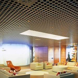 Perforated Metal Screen for Building Ceiling