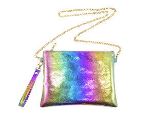 Fast delivery Hair Elastic - Colorful metalic clutch and cross body bag –  Mia Creative