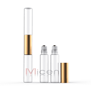 Competitive Price for Amber Glass Bottle With Metal Roller Ball - RS147 DUO Roller glass – Micen