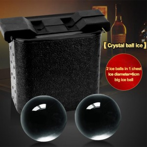 Ball ice molds