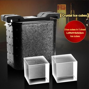 Cube ice molds