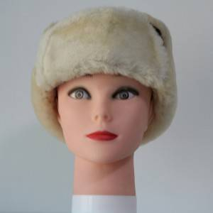 Double faced Sheepskin trapper winter hats
