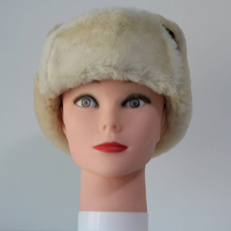 Manufacturer of Winter Fur Hats For Ladies - Double faced Sheepskin trapper winter hats – Fanshen