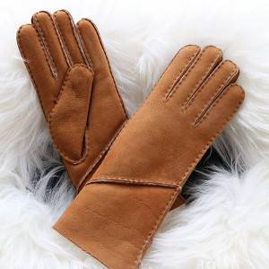 High Quality for Patent Leather Gloves - Classic style Ladies handswen Merino sheepkin gloves – Fanshen