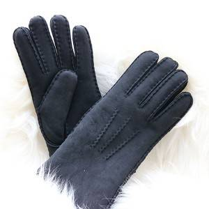 Classical casual Ladies handsewn shearling gloves