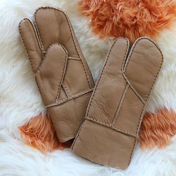 Pieces napa shearling sheepskin gloves Featured Image
