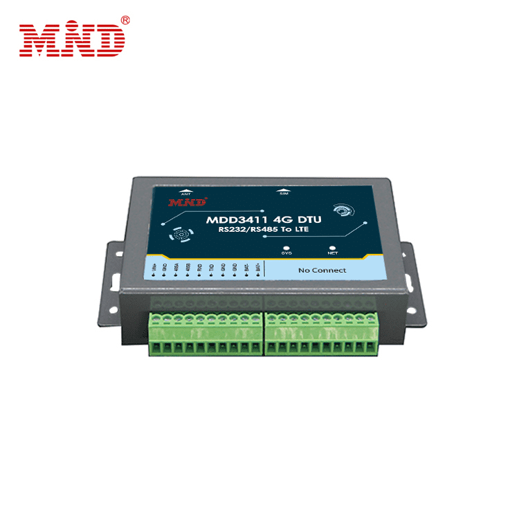 RS232/RS485 serial port to LTE wireless bidirectional transparent transmission 4G DTU