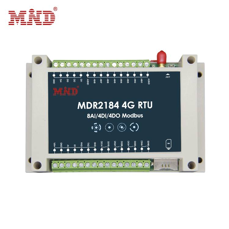 8 channel analog signal acquisition Graphical parameter configuration 4G RTU