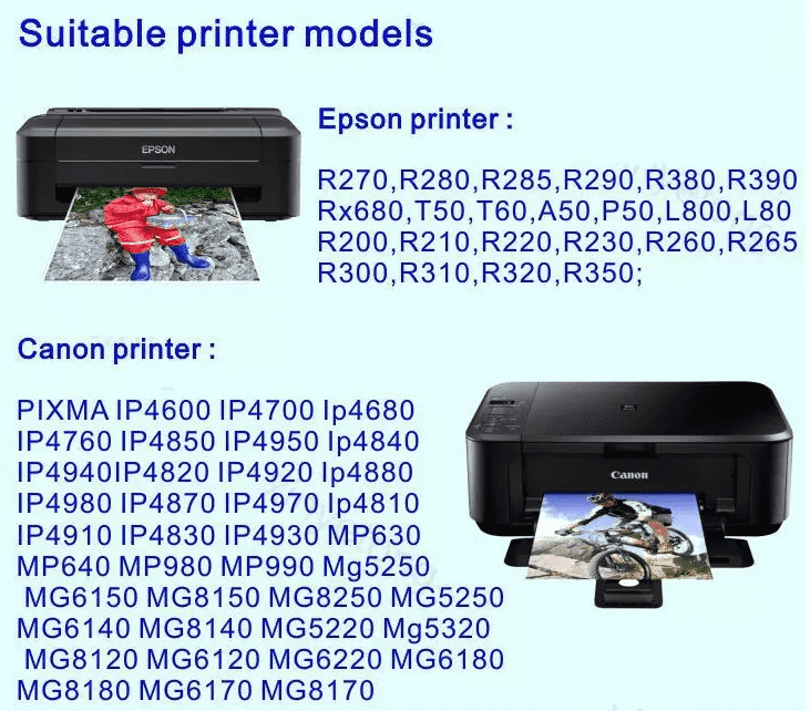 Inkjet Printer Pvc Card (1)