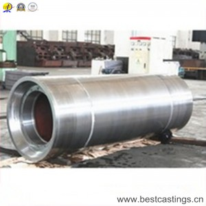 Forging steel pipe