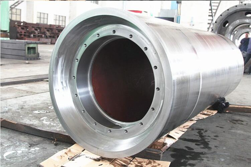 Precision Heavy Steel Forging with Chrome Plated