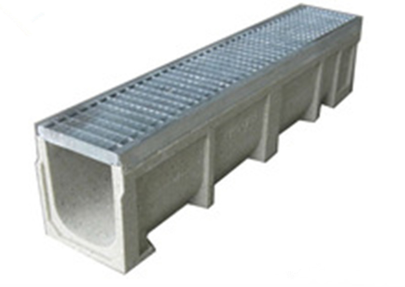 U-Shape Stamping Grating Cover Drainage Channel