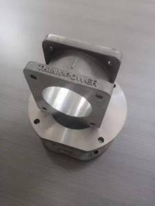 Cast aluminum interface