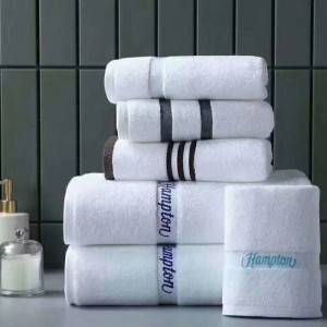 Discountable price Acrylic Household Textile - Hotel towel set-3 – Mingda