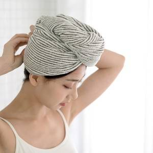 Microfiber shower cap-1